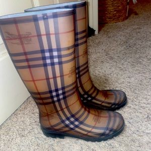 Authentic Burberry Boots